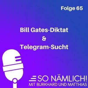 Telegram und Bill Gates