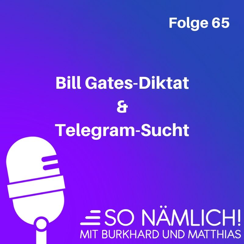 Telegram und Bill Gates